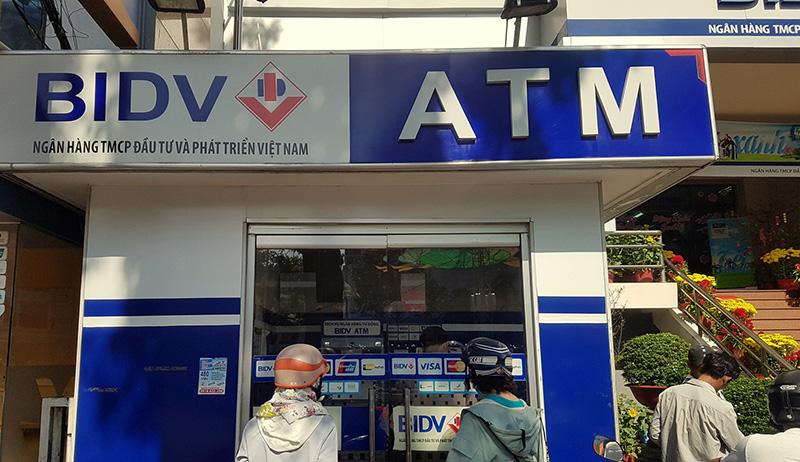 Cây ATM gần đây