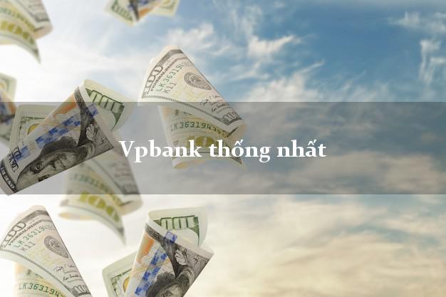 Vpbank thống nhất