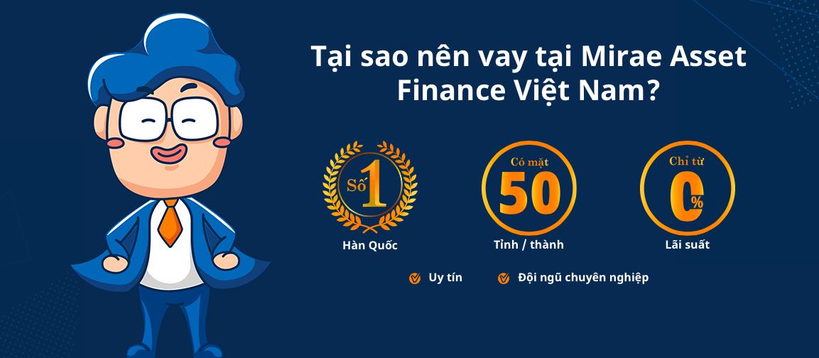 Hướng dẫn vay tiền Mirae Asset giải ngân nhanh
