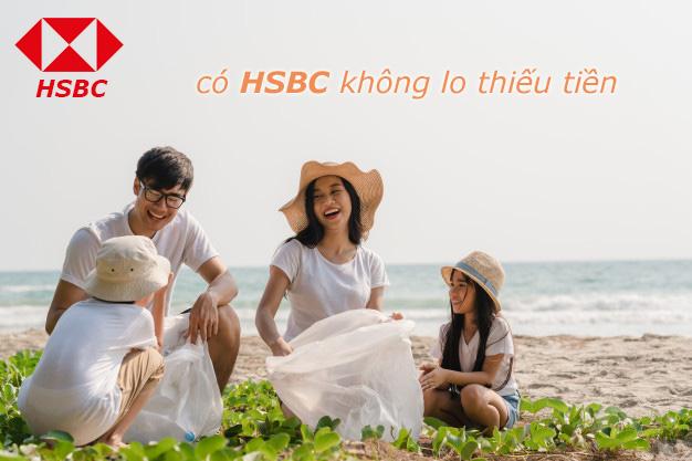 Hướng dẫn vay tiền HSBC tháng 5 2021